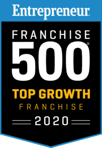 Entrepreneur Franchise 500 Top Growth Franchise 2020